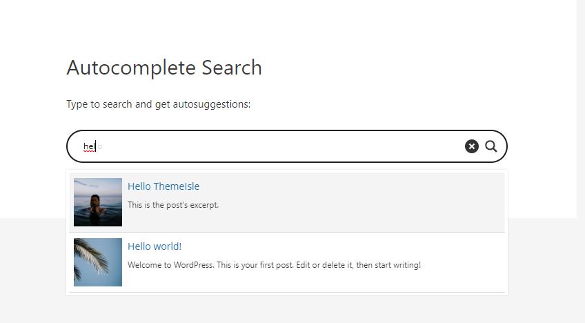 WordPress autocomplete example