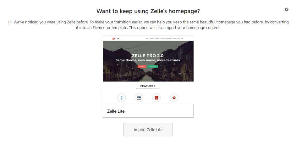 The easy to use migration process for users of Zelle