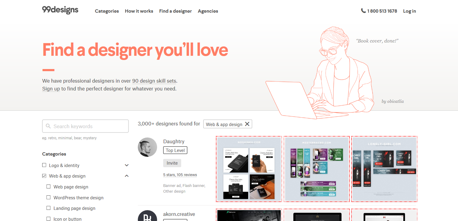 99 design board for usability