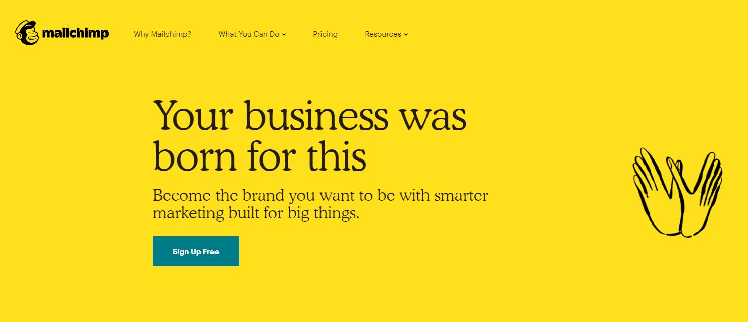 servicios gratuitos de marketing por correo electrónico - mailchimp