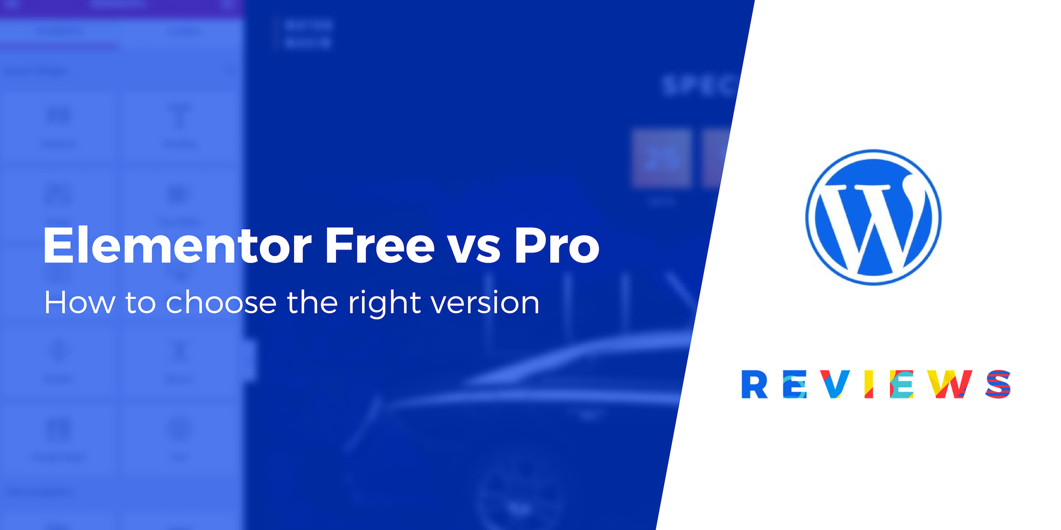 Elementor Free vs Pro Differences: Here's How to Choose the Right One
