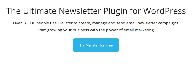 Mailster es uno de los mejores complementos de marketing de correo electrónico de WordPress