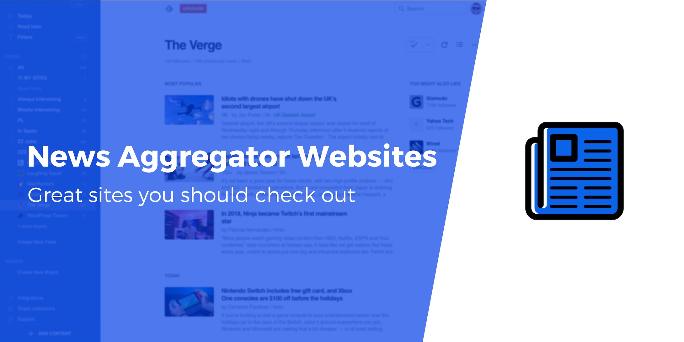 7 Great News Aggregator Websites You Should Check Out (Plus How to Build Your Own)