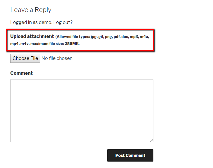 How to Let Users Upload Comment Images in WordPress