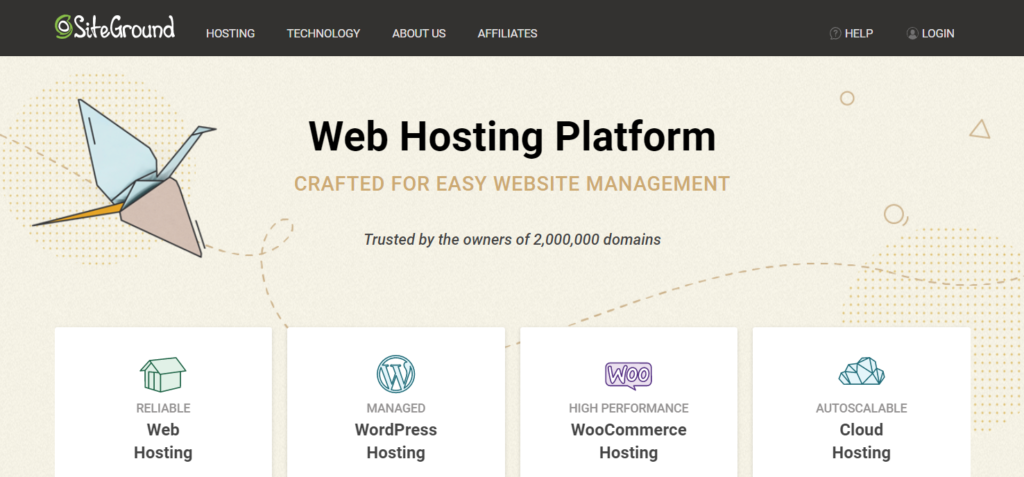 SiteGround offers cheap WordPress hosting with managed WordPress features